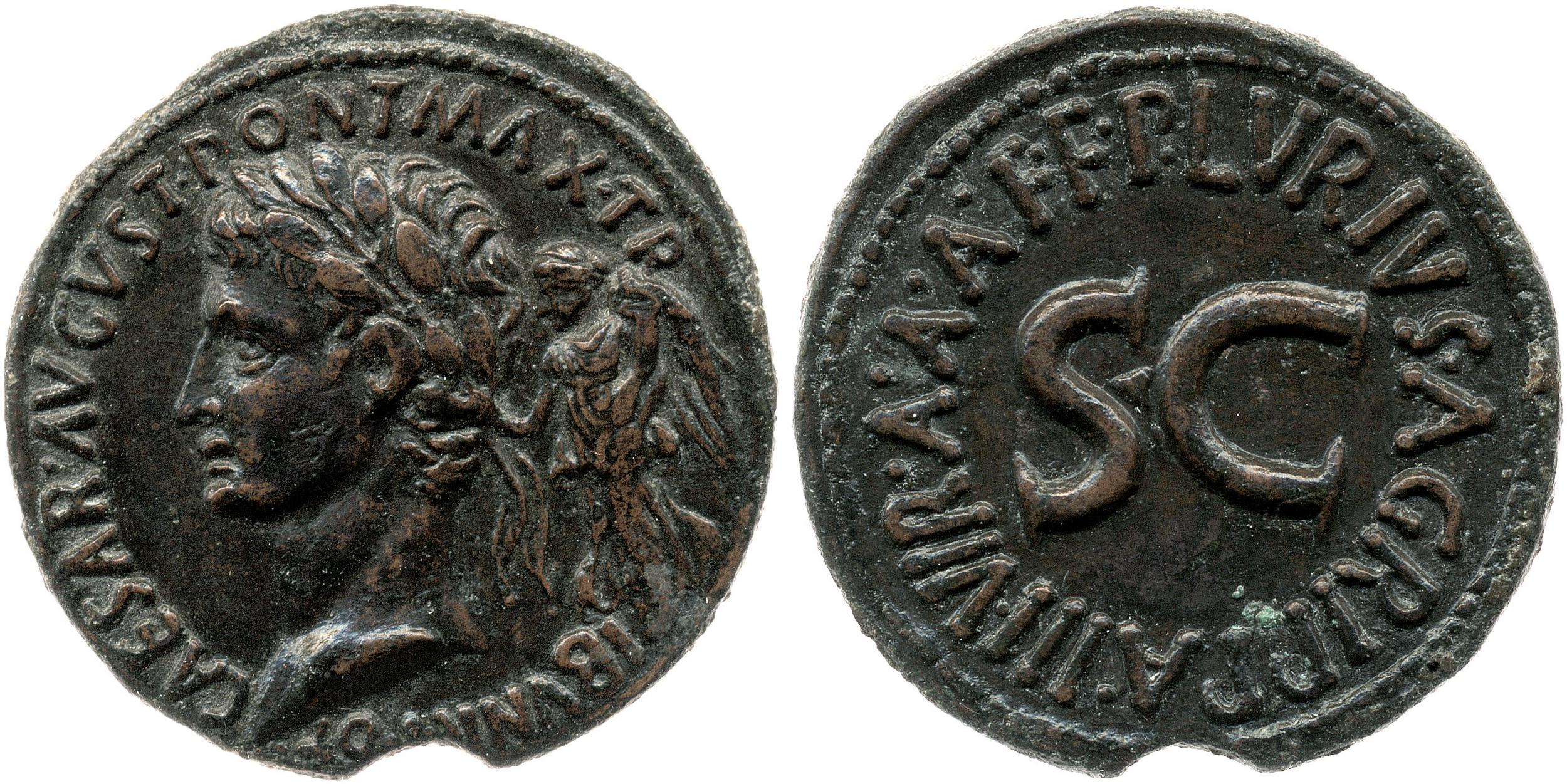 You are currently viewing 2164AU – Sesterce Auguste – P. Lurius Agrippa