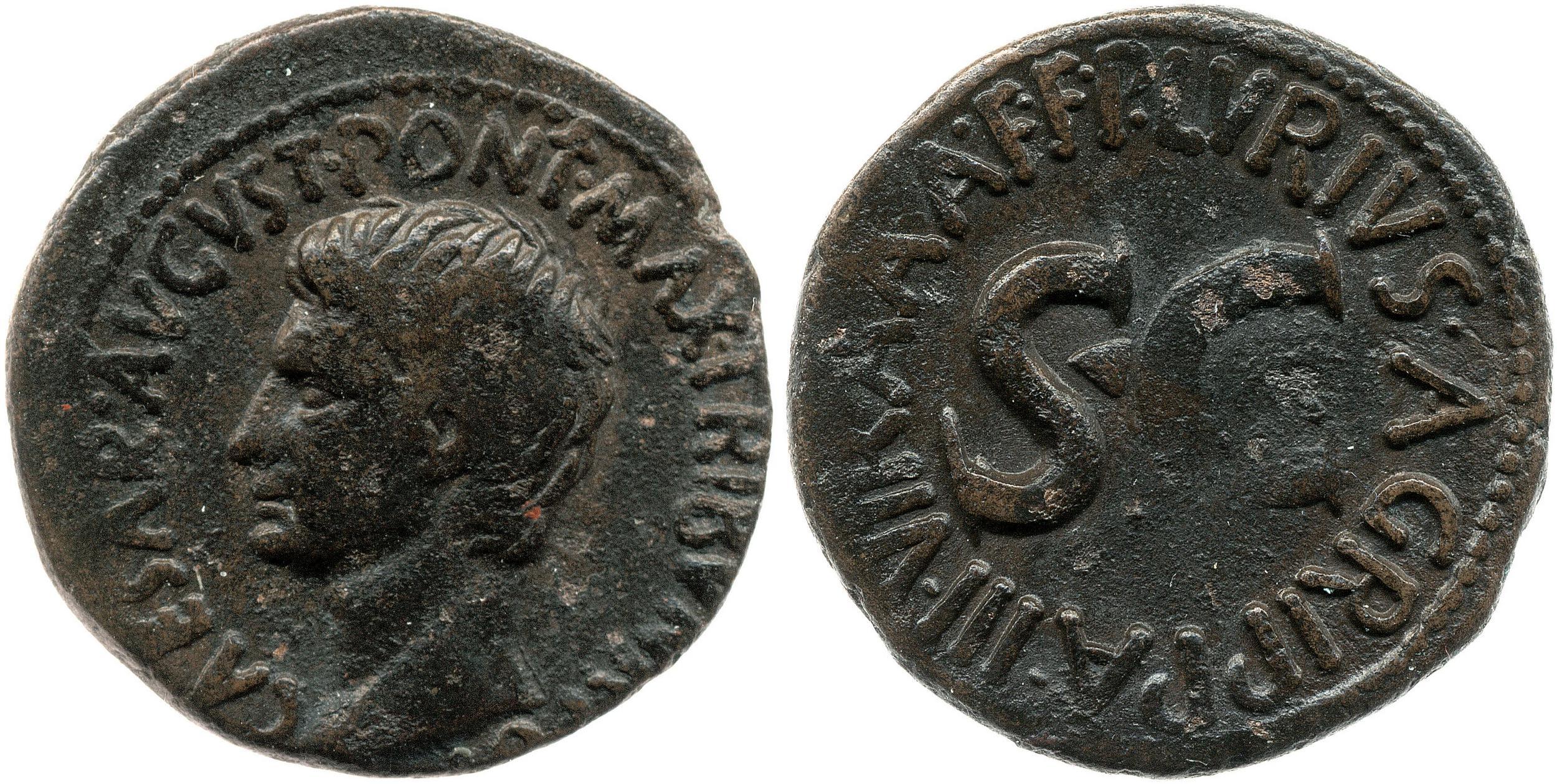 2166AU – As Auguste – P. Lurius Agrippa