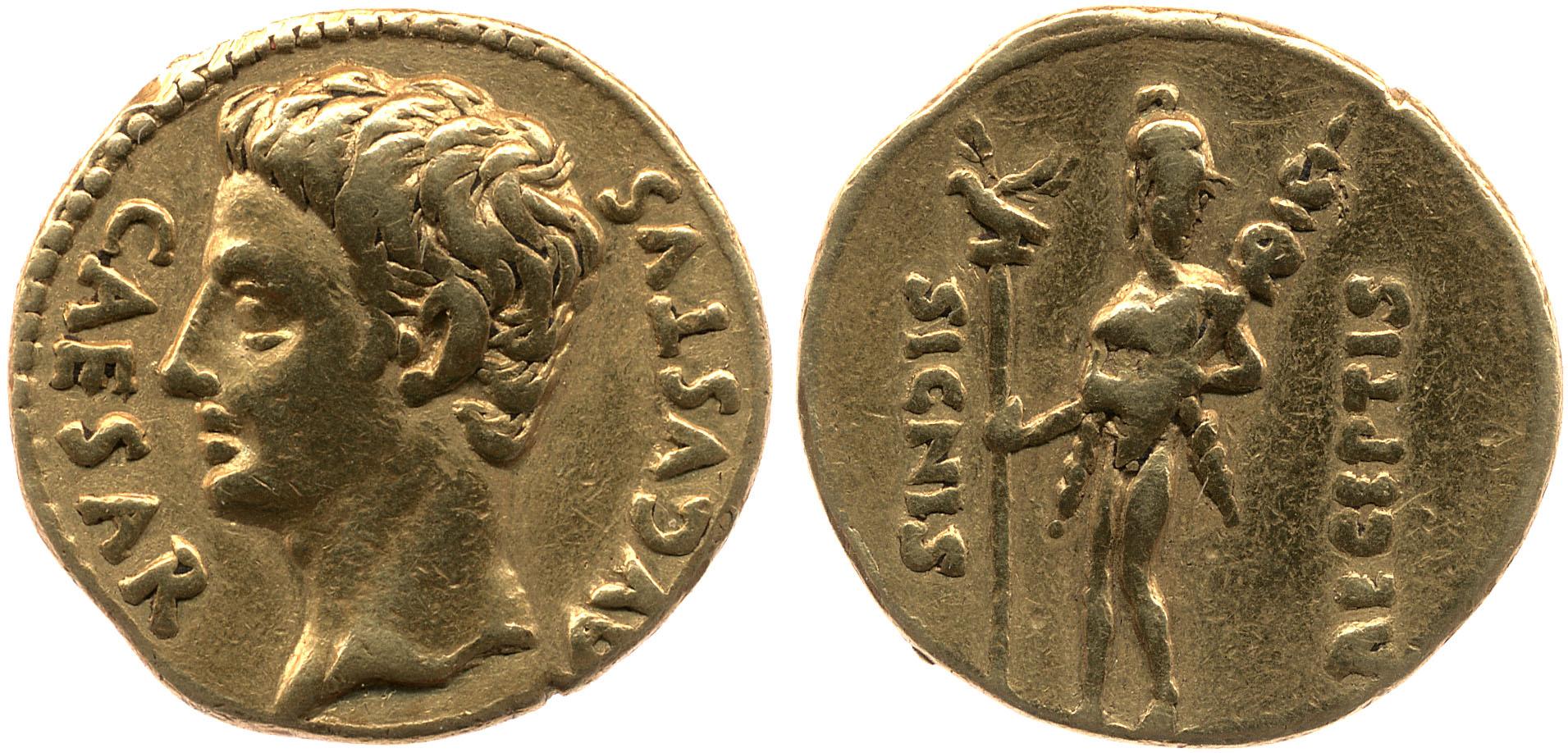 2354AU – Aureus Auguste