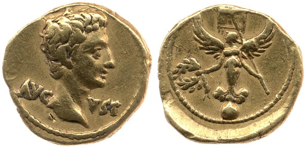 2403AU – Quinaire d'or Auguste