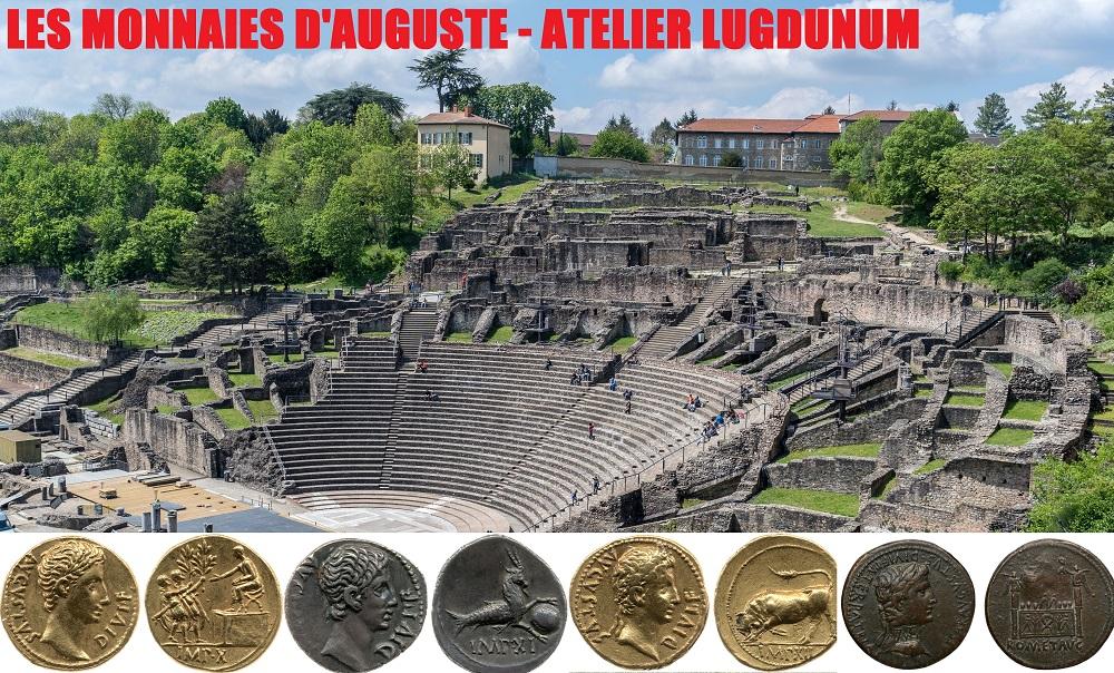 Les monnaies d'Auguste – Atelier Lyon