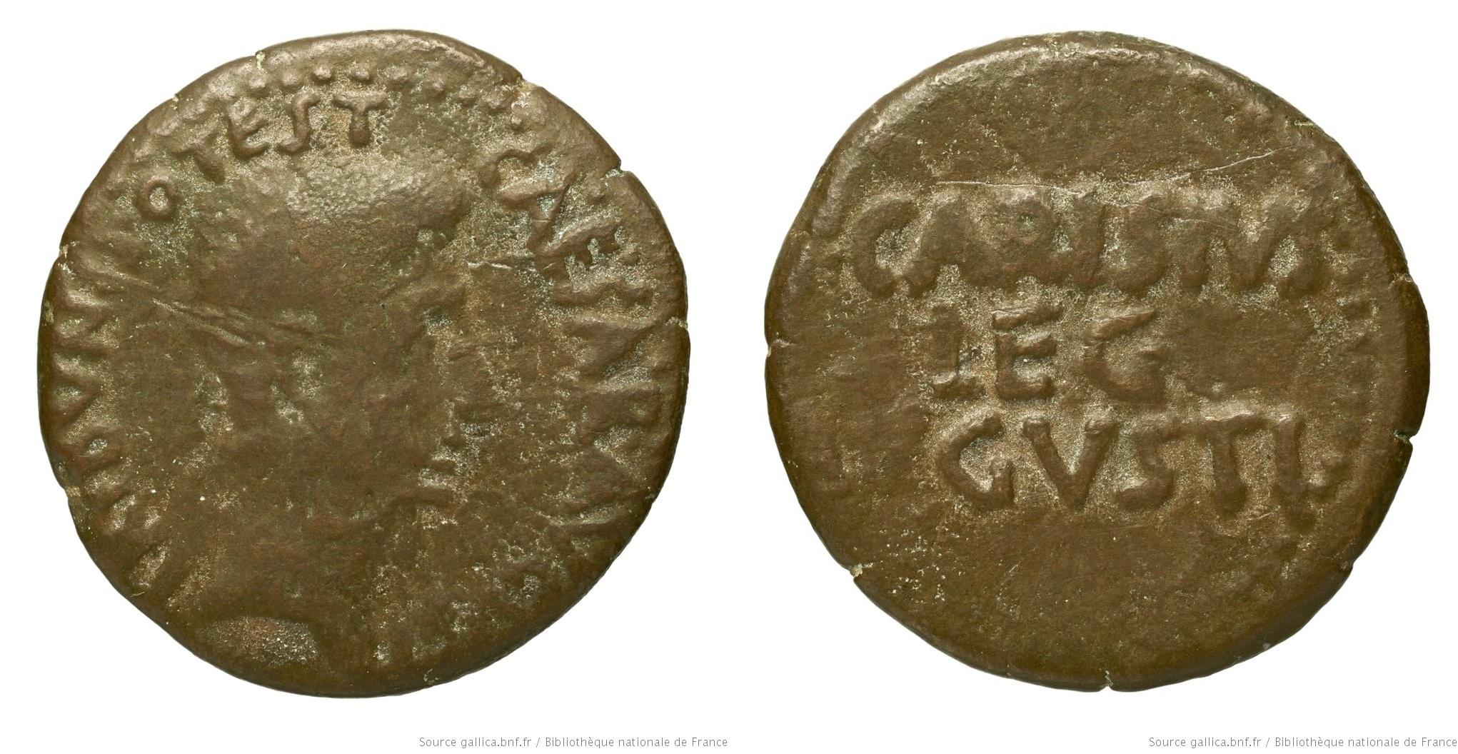 2466AU – As Auguste – P. Carisius