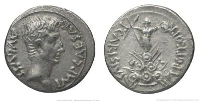 2441AU – Denier Auguste – P. Carisius