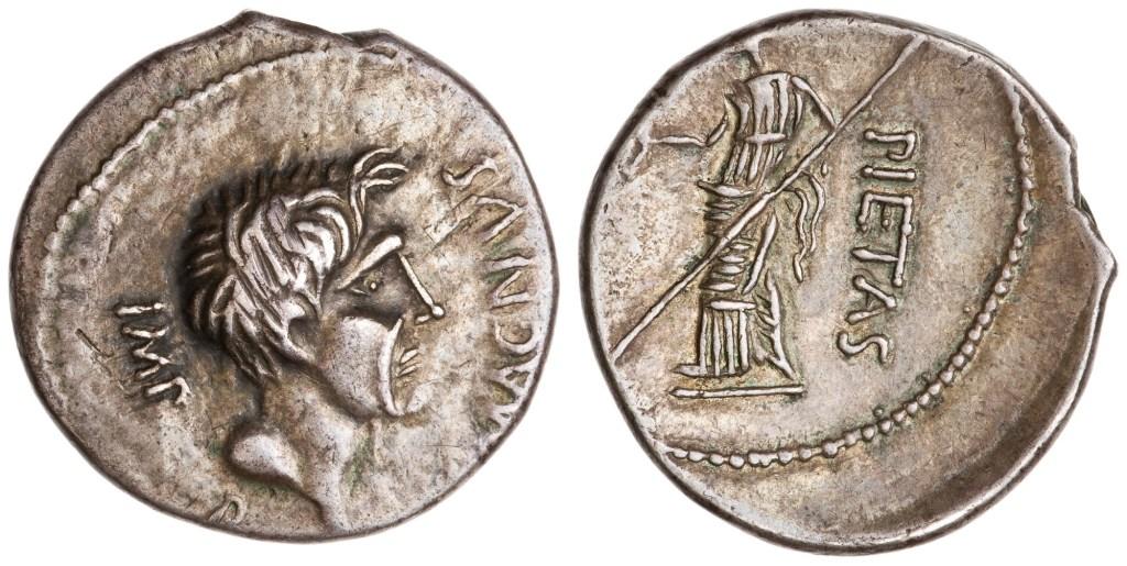 Read more about the article 1811PO – Denier Sextus Pompée