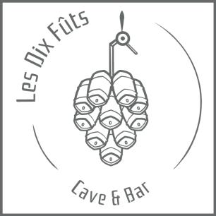 Logo de Les Dix Fûts - Cave & Bar
