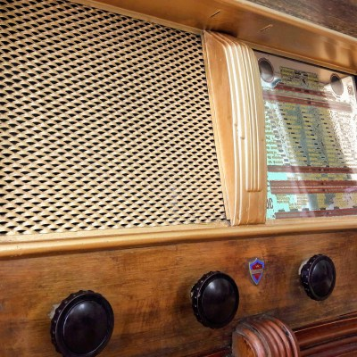Clarville Radio vintage bluetooth LES DOYENS