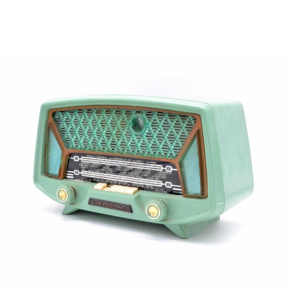 Océanic Pirate radio vintage bluetooth LES DOYENS