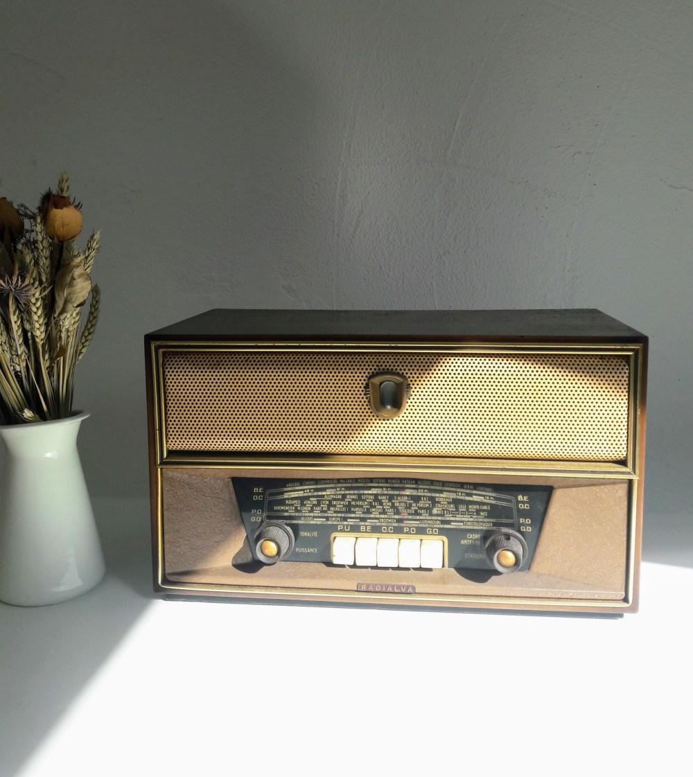 Radialva Inter6 poste radio tsf vintage bluetooth - Les Doyens