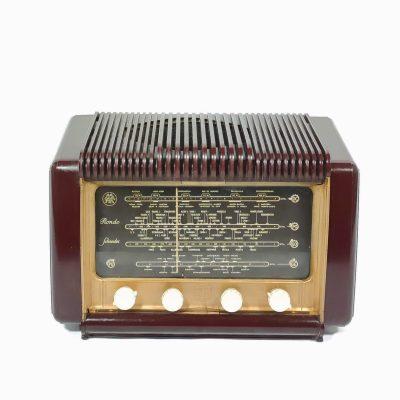 Schneider Rondo 53 de 1955 : Poste radio vintage Bluetooth
