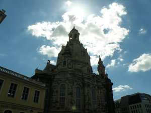 A place to see before you die: Frauenkirche Dresden - Foto-Copyright by: ~Ilb, Leseleidenschaft.de