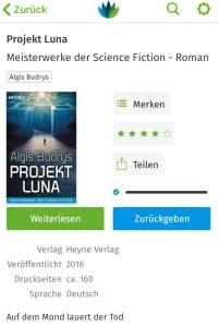 Projekt Luna von Algis Budrys - skoobe screenshot