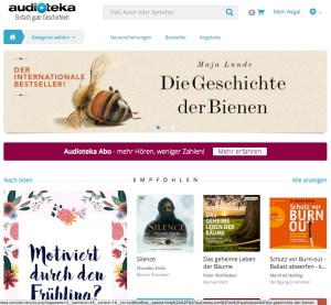 [Screenshot] audioteka Webshop