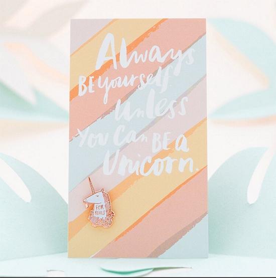Hello! Lucky Unicorn Card