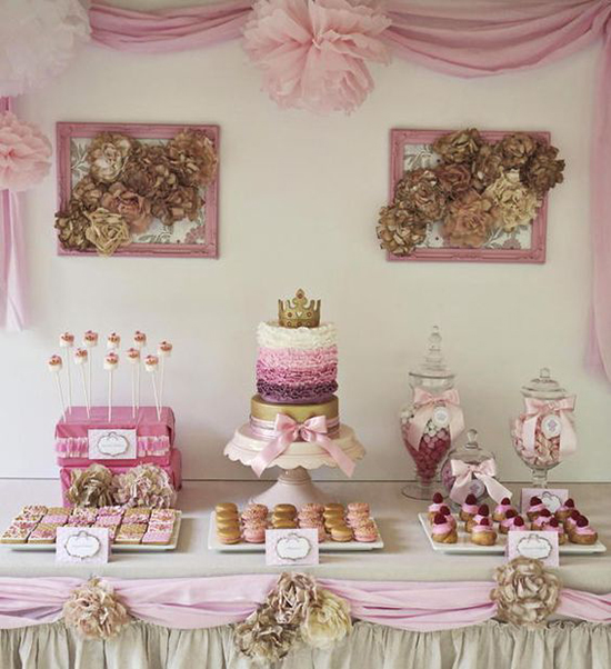 Princess Sweetie Table