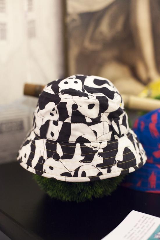 Alegre Media Panda Print Hat