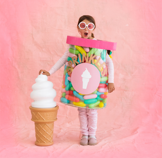 Jar of Sprinkles Costume