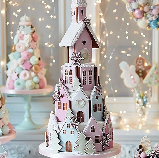Peggy Porschen Gingerbread House
