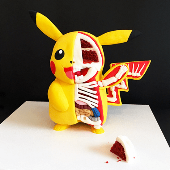 Tattooed Bakers Pikachu