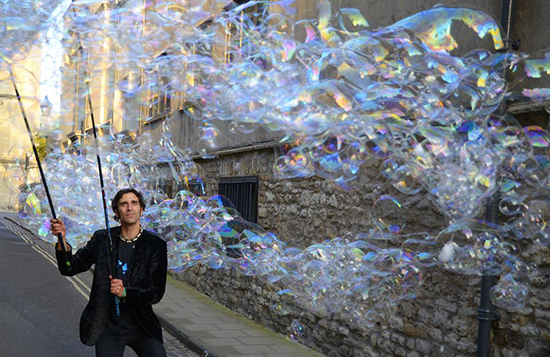 Sam Bubble Man