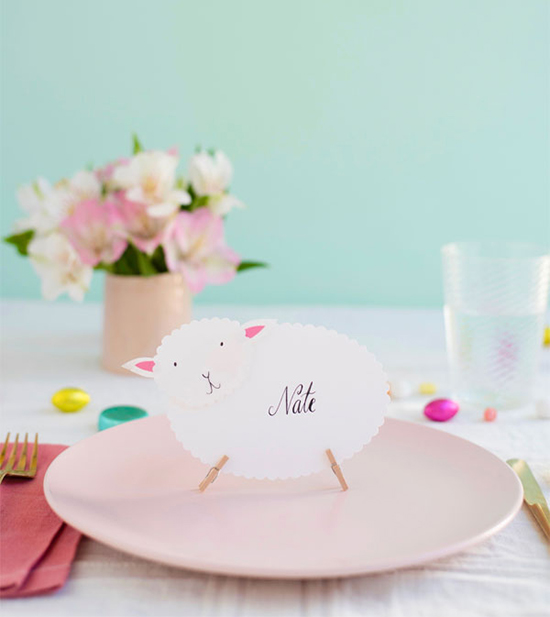 Sheep Table Toppers