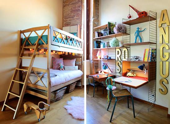 La chambre de Rose et Angus par Sandie de Fresh  Vintage