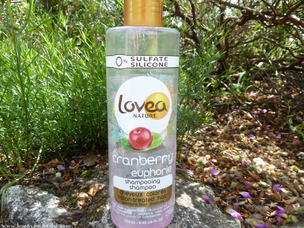 Shampooing cranberry euphorie Lovea Nature