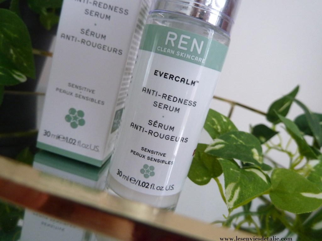 Sérum anti-rougeurs Evercalm Ren Skincare