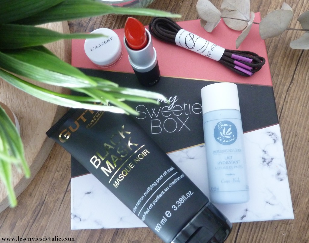 La sélection beauté de My Sweetie Box de septembre 2019