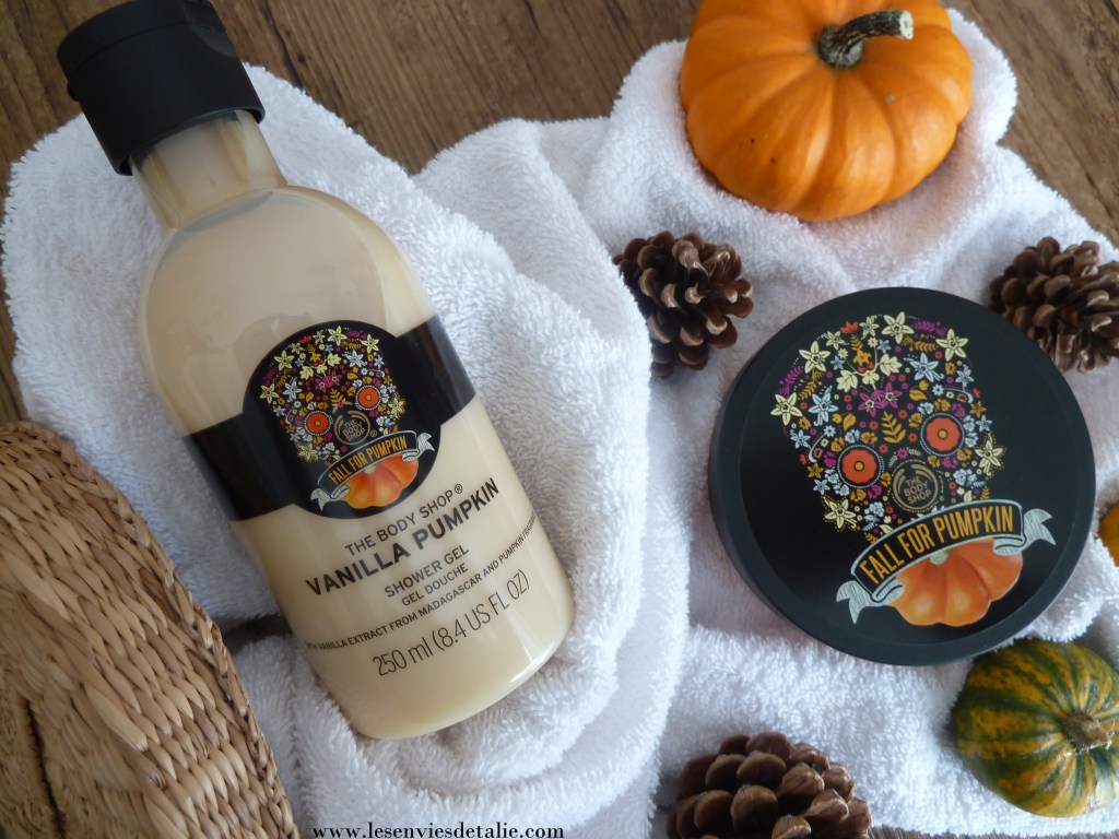 Gel douche et beurre corporel Vanilla Pumpkin The Body Shop