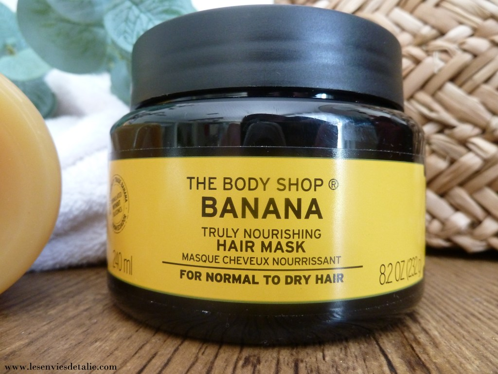 Masque nourrissant à la banane The Body Shop