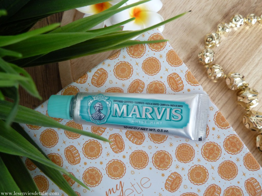 Dentifrice menthe anis Marvis