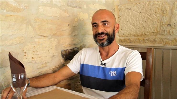 Sylvain Sarrazin gérant du bistrot des amis à Barjac