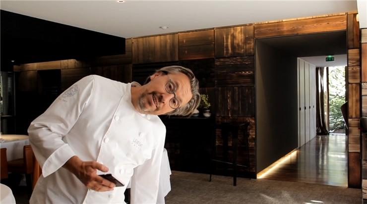 Laurent Petit Chef et Fondateur du restaurant Le Clos des Sens