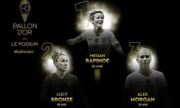#Ballon d'Or – Megan Rapinoe, Ballon d'Or veut des dollars !