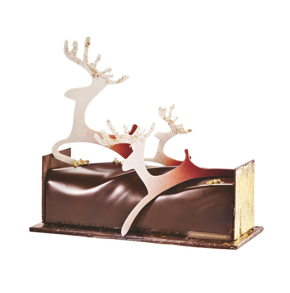 d couvrez les cr ations de no l de la maison du chocolat. Black Bedroom Furniture Sets. Home Design Ideas