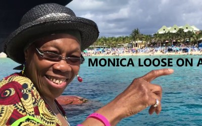 Monica – Loose on a Cruise
