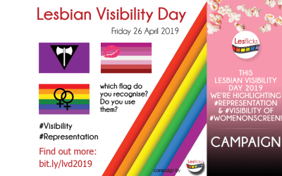 This Lesbian Visibility Day 2019 we're highlighting #representation & #visibility of #womenonscreen!