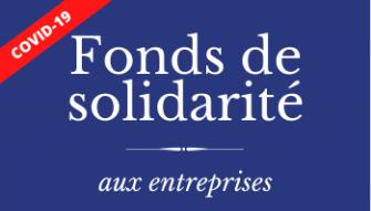 Actualité COVID-19 : Fonds de solidarité