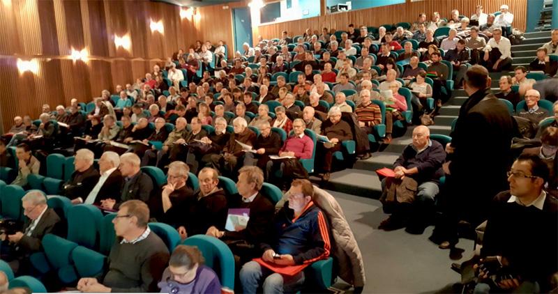 Loire : assemblée générale du SIEL Territoire Energie Loire près de St Etienne aux Foréziales