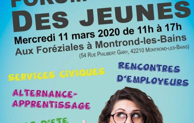 Forum de l'emploi des jeunes aux Foréziales avec Forez-Est