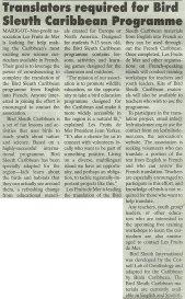 BirdSleuth-DailyHerald-Translation-web