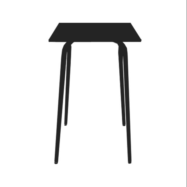 table de bar tables de bar vera formica 70x70 gris perle