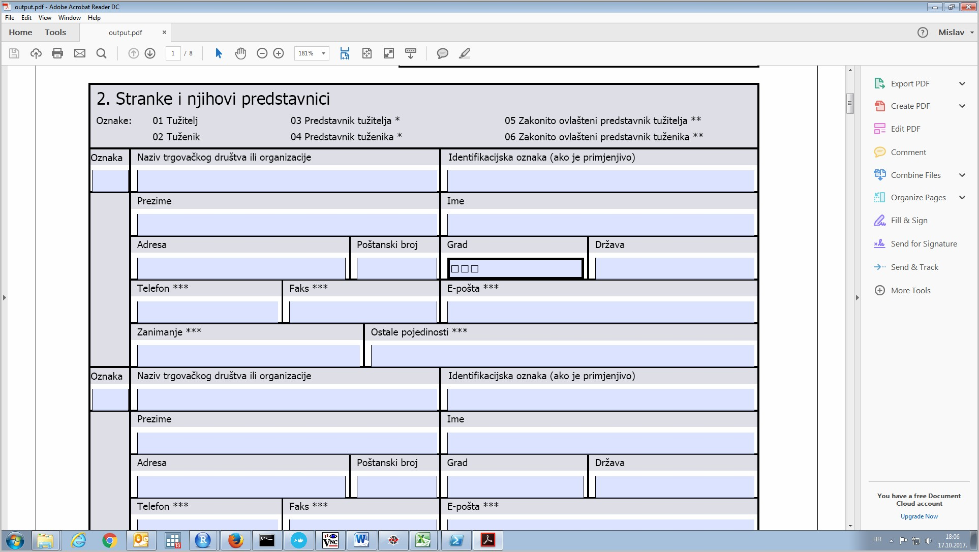 Create Fillable Forms Linux