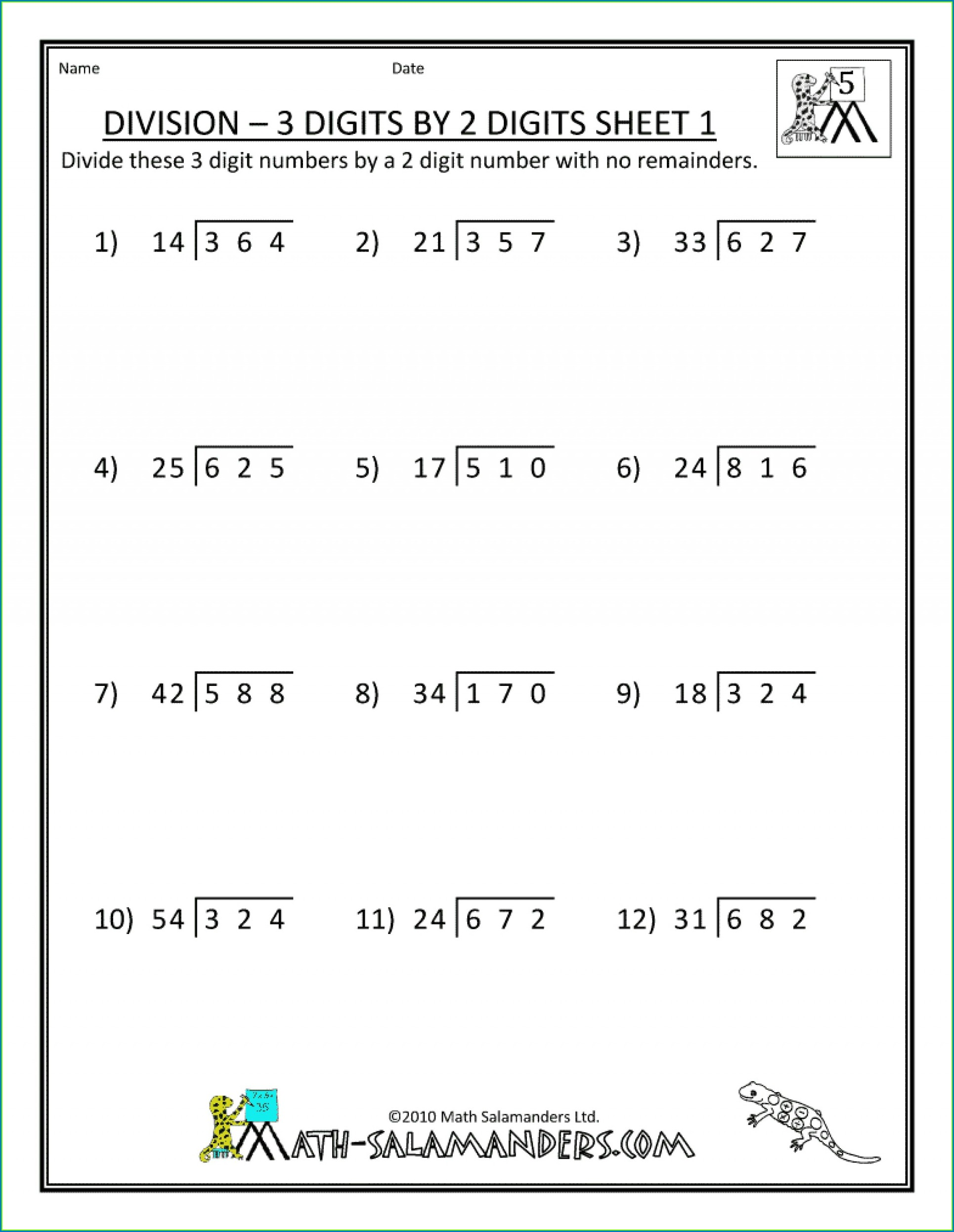 8th Grade Minute Math Worksheets Answers