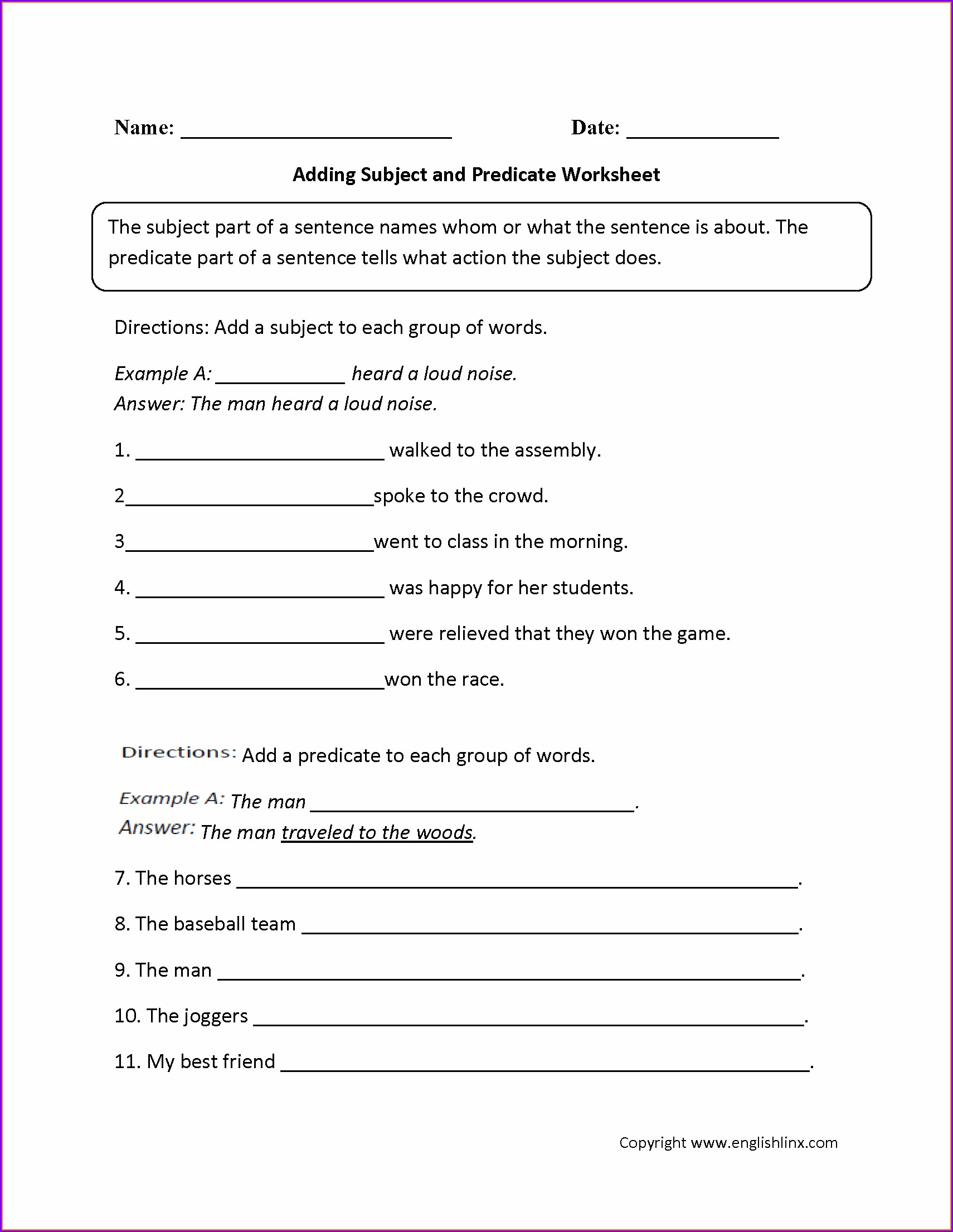 hight resolution of 9th Grade Grammar Worksheets Pdf   Printable Worksheets and Activities for  Teachers