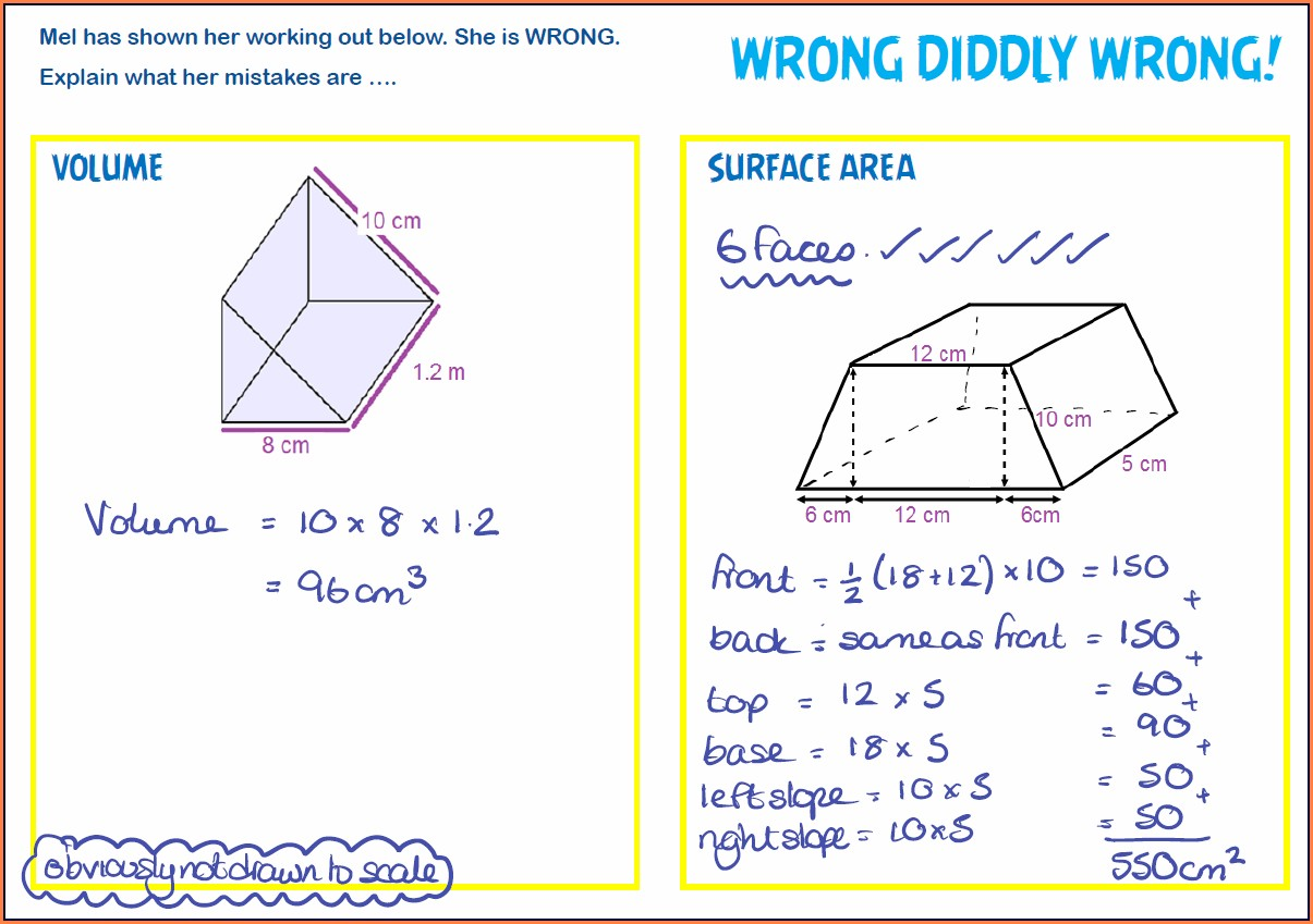 Triangle Area Worksheets Free