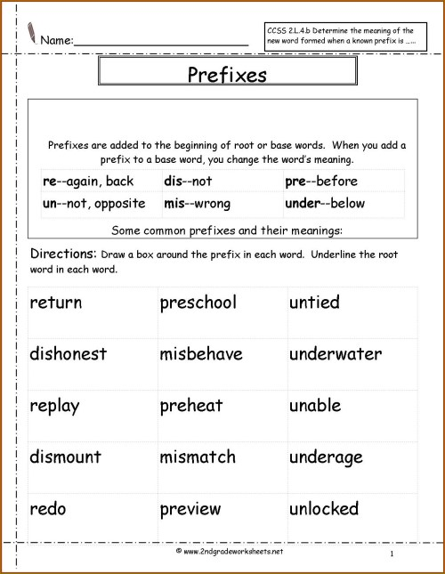 small resolution of Un Prefix Worksheet   Printable Worksheets and Activities for Teachers
