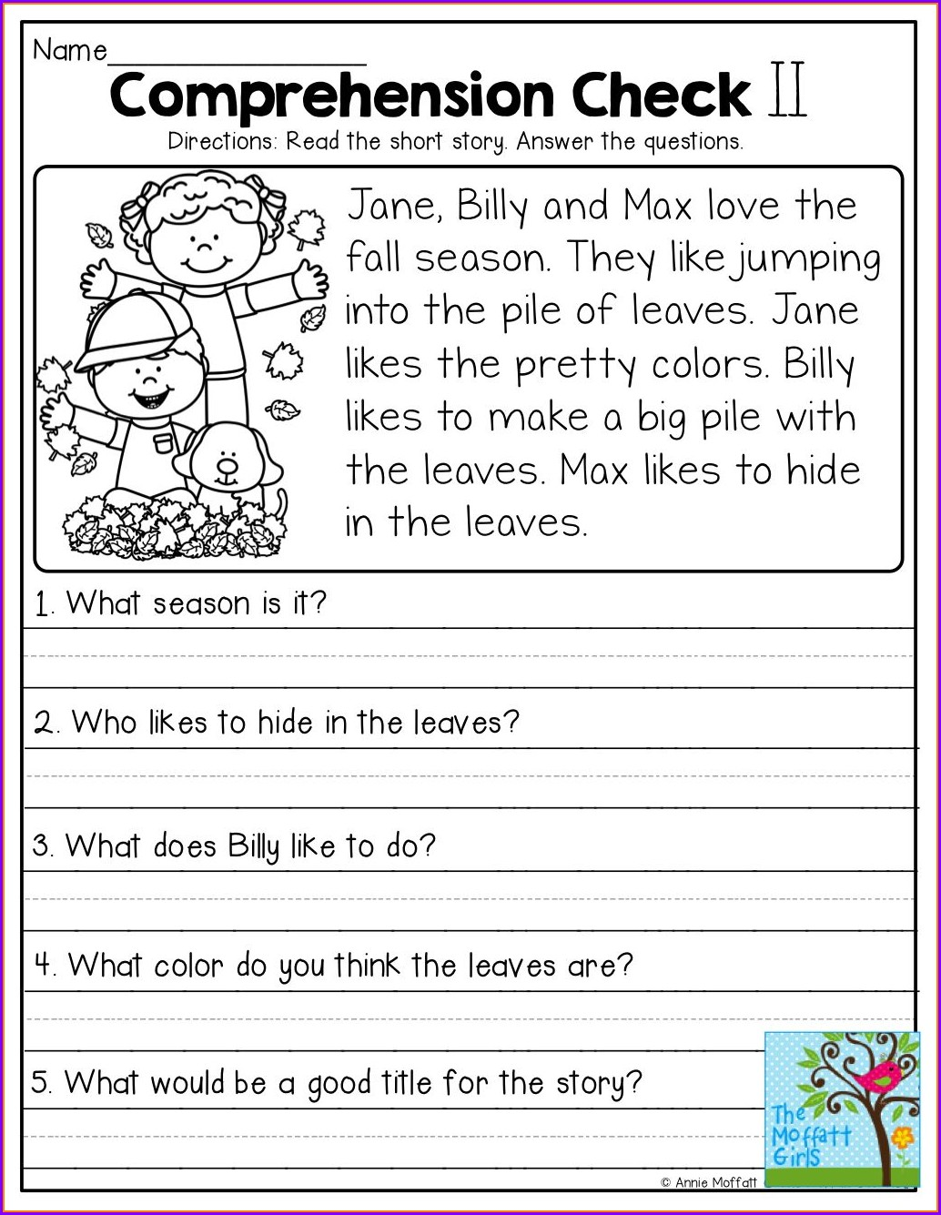 Comprehension Passages With Multiple Choice Questions For