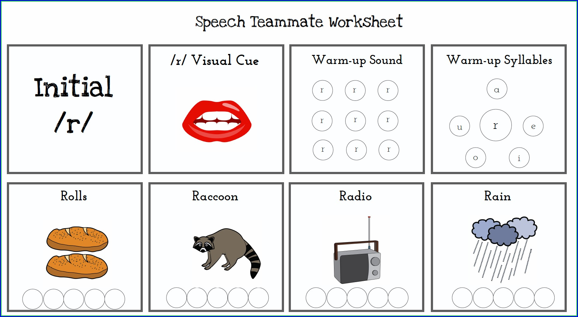 Printable Th Sound Words Worksheet