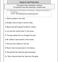 Subject Verb Agreement Worksheet 6th Grade   Printable Worksheets and  Activities for Teachers [ 1660 x 1285 Pixel ]
